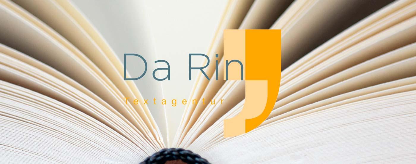 Text, Lektorat & Schreibcoaching Köln | Textagentur Da Rin | Logo